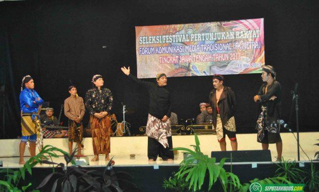 Peserta seleksi Festival Seni Pertunjukan Rakyat 2017-5