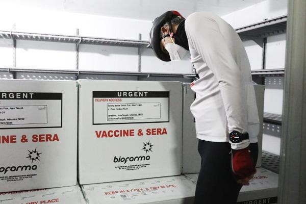 Vaksin Sinovac tiba di Jawa Tengah 1/4/2021